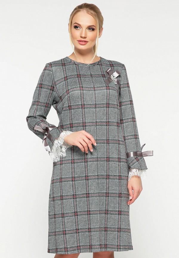 женское повседневные платье vlavi, серое