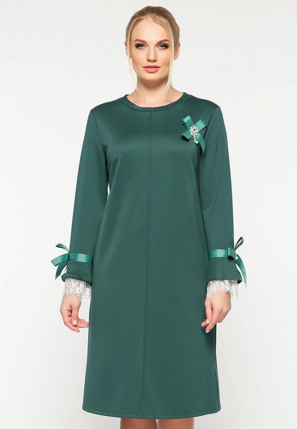 женское повседневные платье vlavi, зеленое
