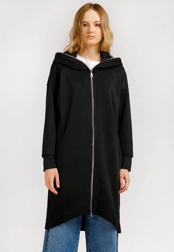 Пальто Finn Flare черного цвета