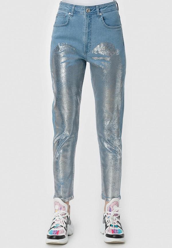 женские джинсы-мом millennials, голубые