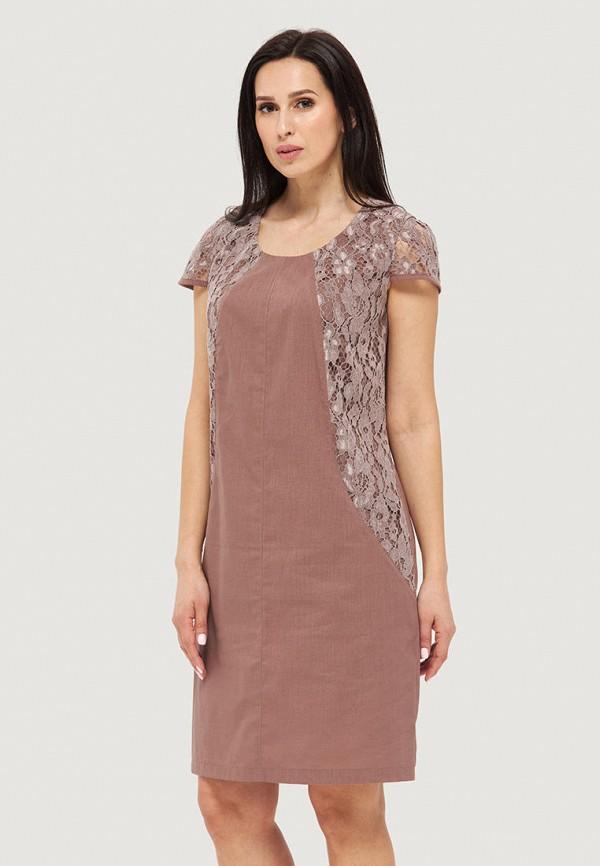 женское повседневные платье danna, бежевое