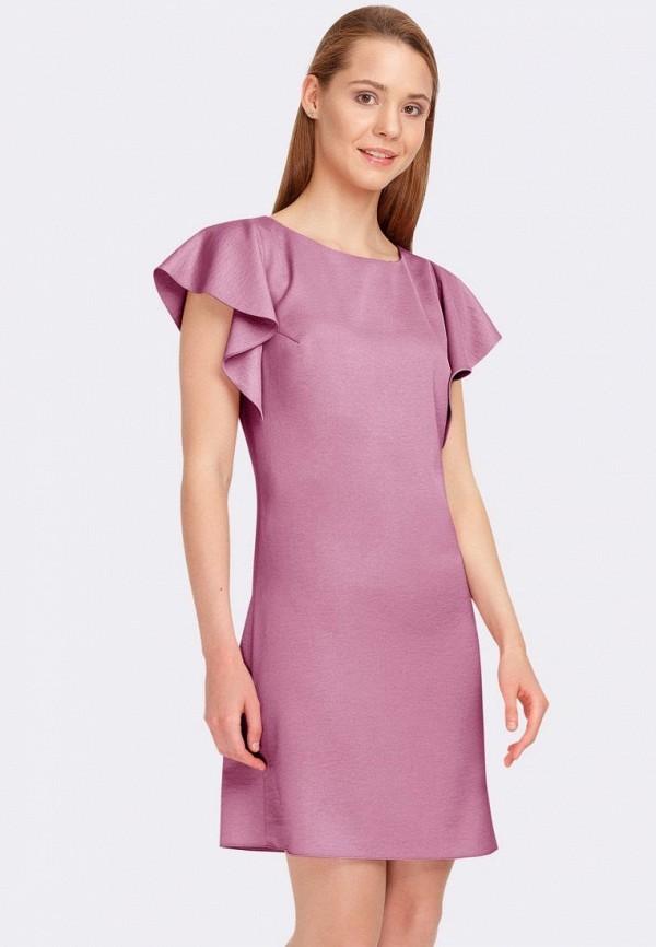 женское повседневные платье cat orange, фиолетовое