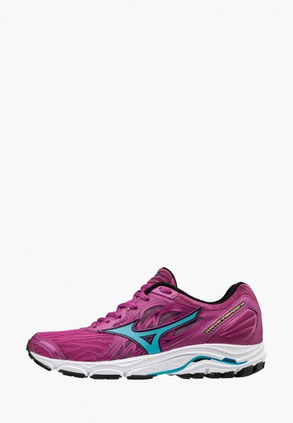 женские кроссовки mizuno, фиолетовые