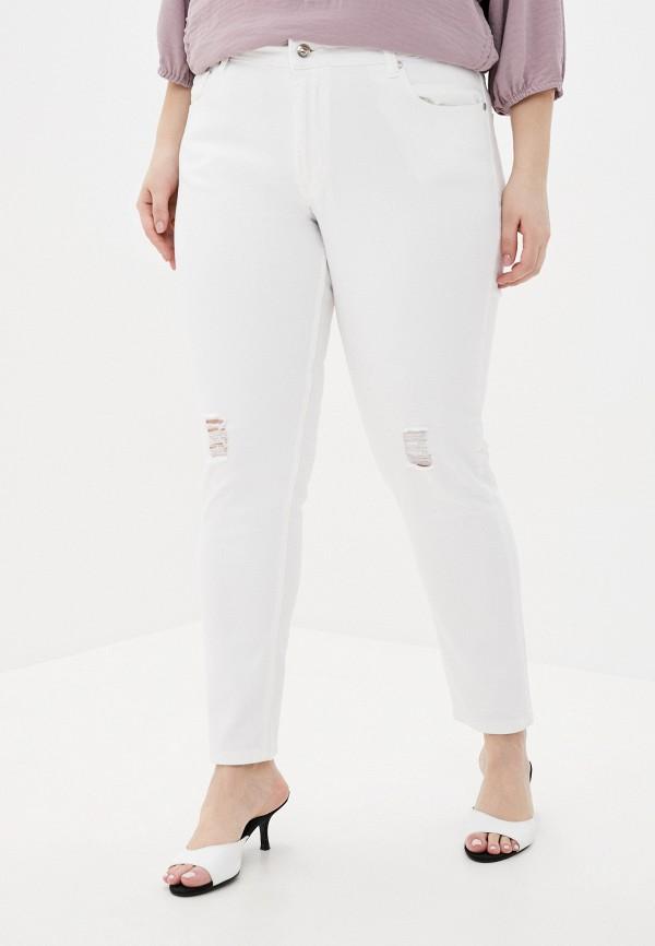 женские джинсы бойфренд verda, белые