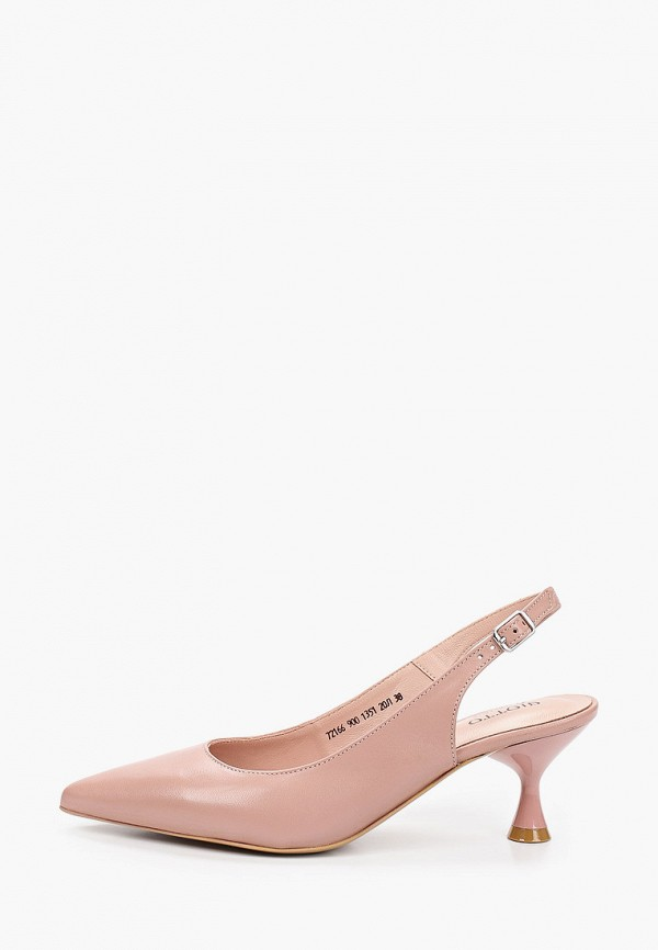 женские туфли giotto, розовые