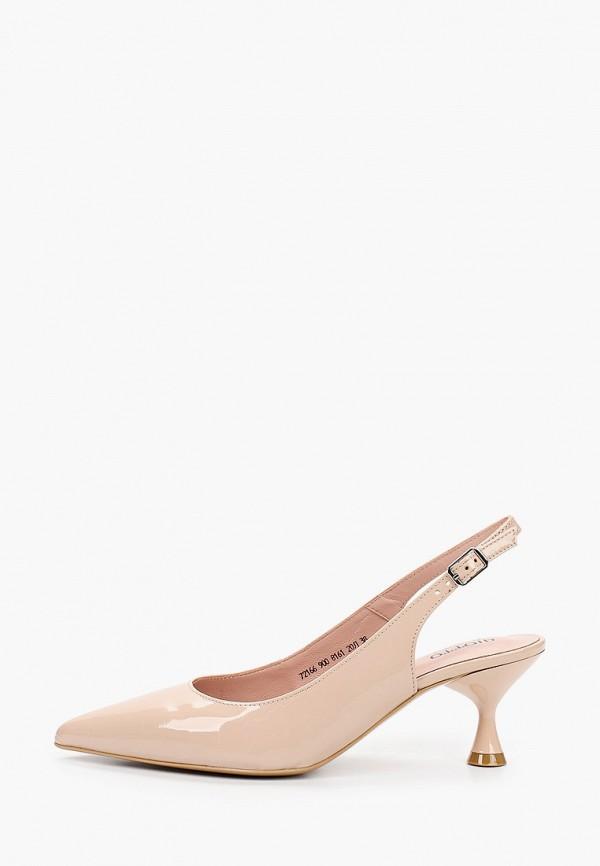 женские туфли giotto, бежевые