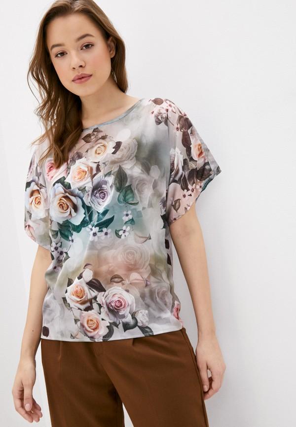 Блуза Анна Голицына цвет разноцветный