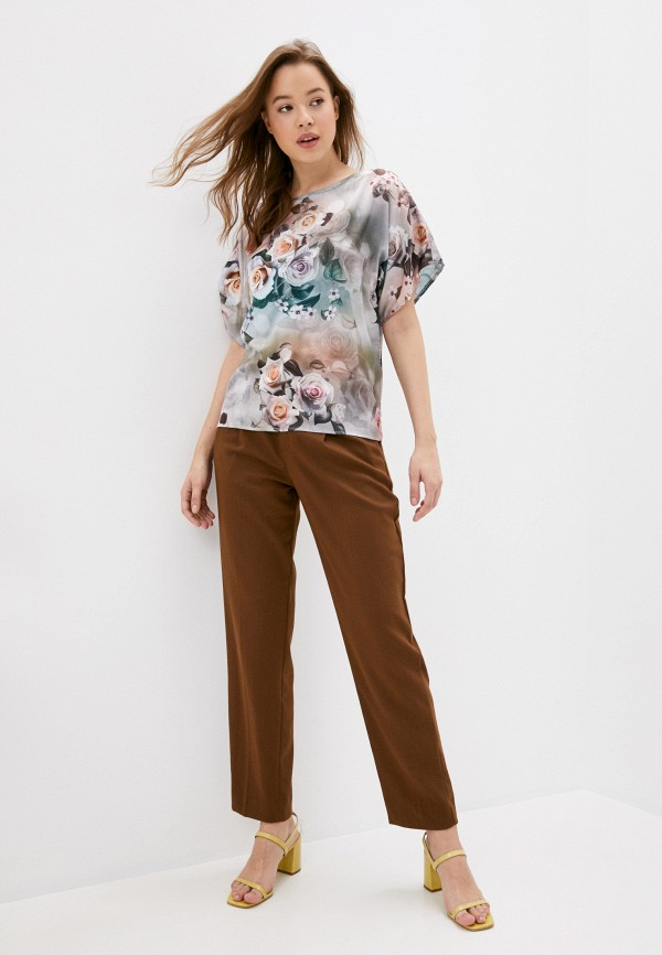 Блуза Анна Голицына цвет разноцветный  Фото 2