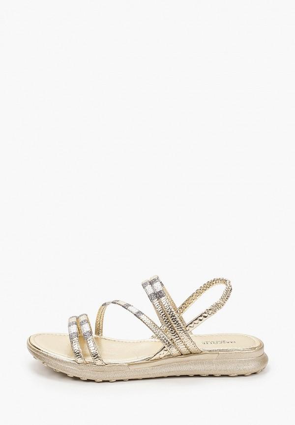 женские сандалии mascotte, золотые