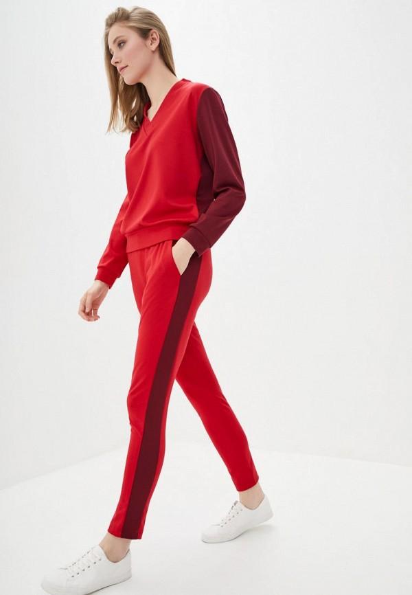 женский костюм muslin, красный