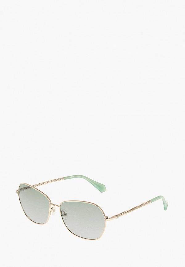 женские солнцезащитные очки enni marco, золотые