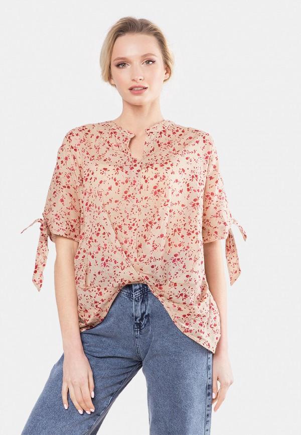 женская блузка mr520, бежевая