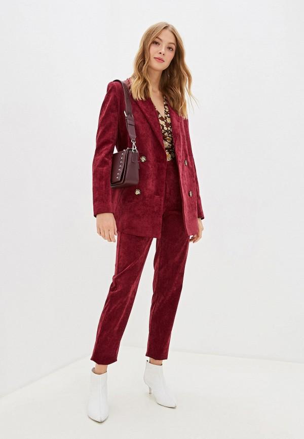 женский костюм ruxara, бордовый