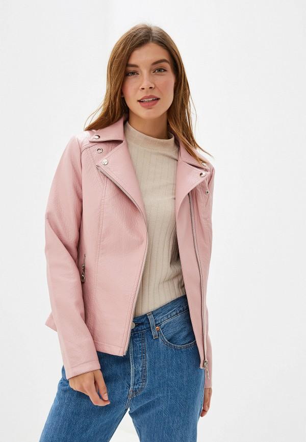 женская куртка elardis, розовая