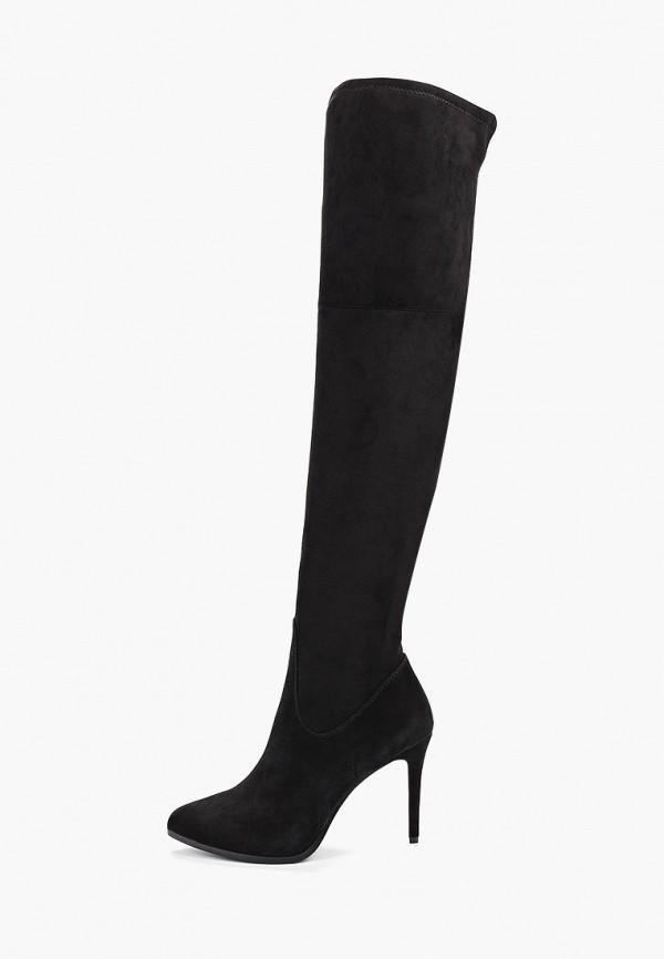 женские ботфорты pierre cardin, черные
