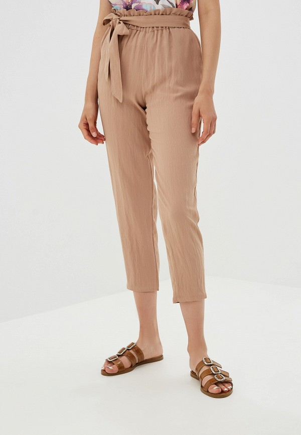 женские брюки viserdi, бежевые
