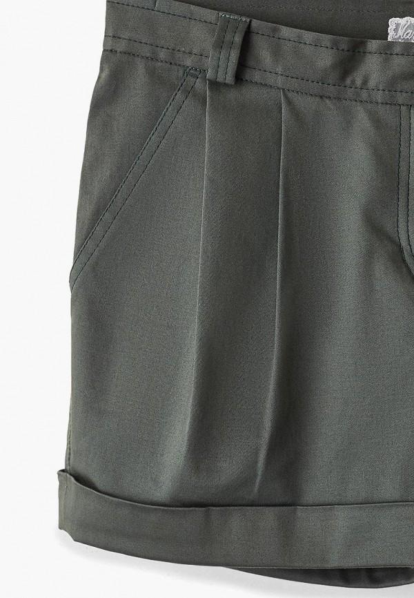 Фото 3 - Женские шорты Maria Rybalchenko цвета хаки