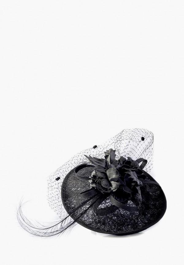 женская шляпа elegant, черная