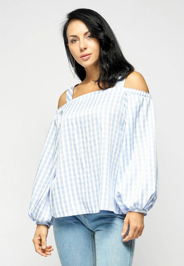 Блуза Bellart цвет голубой  Фото 3