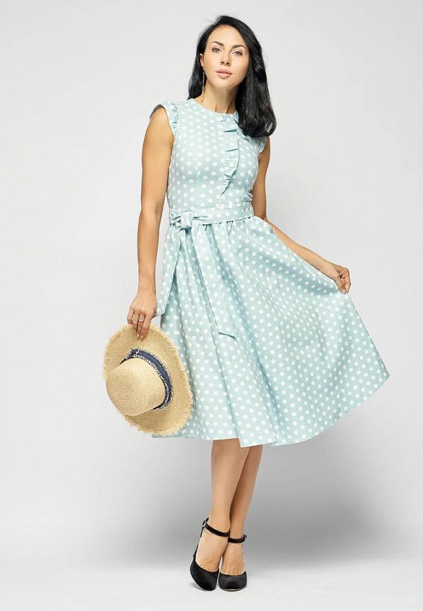 Платье Bellart цвет бирюзовый  Фото 3