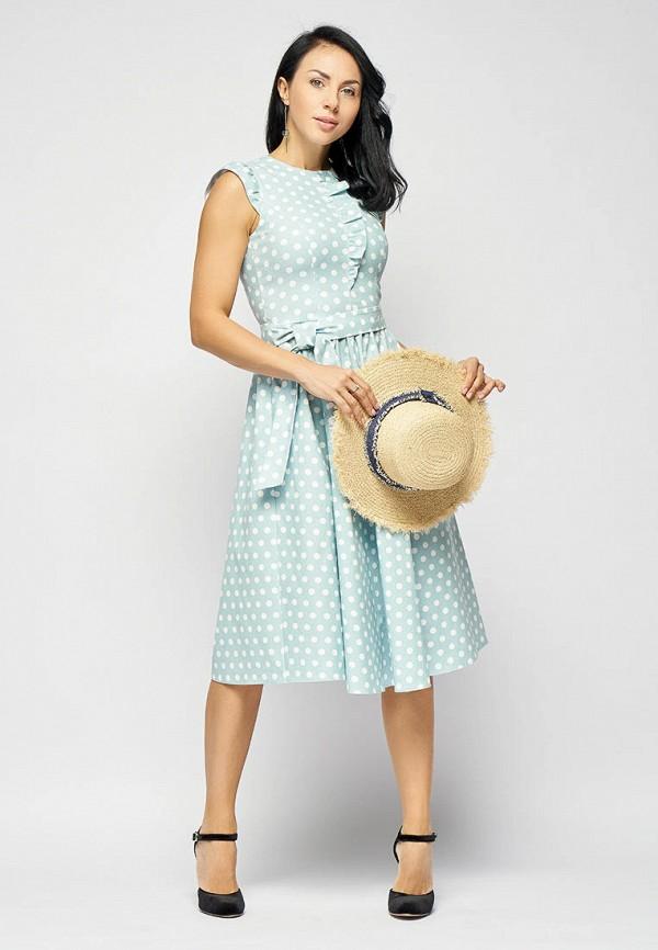Платье Bellart цвет бирюзовый