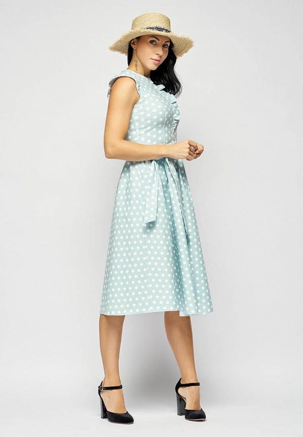 Платье Bellart цвет бирюзовый  Фото 4