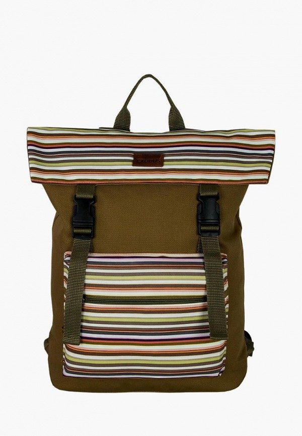 женский рюкзак exodus, коричневый