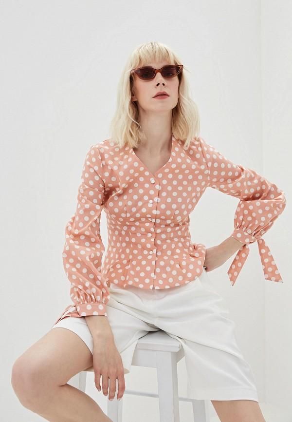 Блуза Lorani цвет розовый