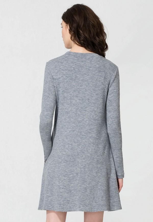 Фото 3 - Платье Panda серого цвета
