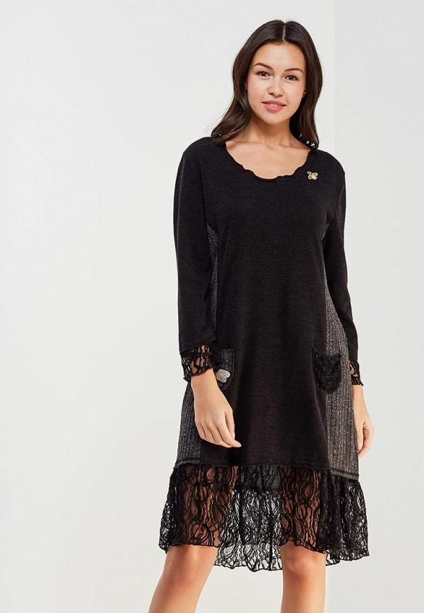 Купить Платье Kata Binska, SEMI, mp002xw0txay, черный, Весна-лето 2018