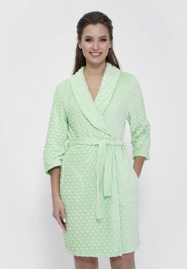 Халат домашний Cleo Cleo MP002XW0TXKI платье cleo cleo mp002xw1982e