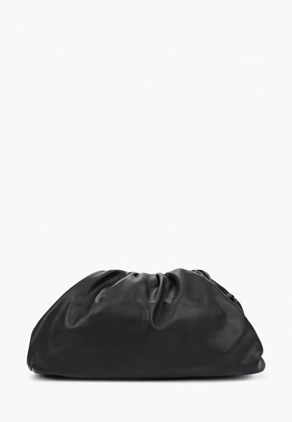 женская сумка через плечо zarina, черная