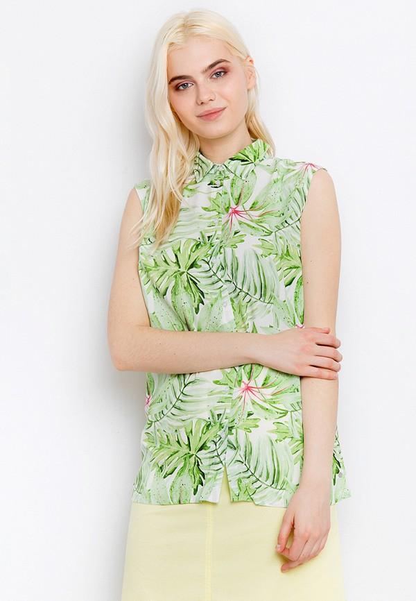Купить Блуза Finn Flare, mp002xw0tynv, зеленый, Весна-лето 2018