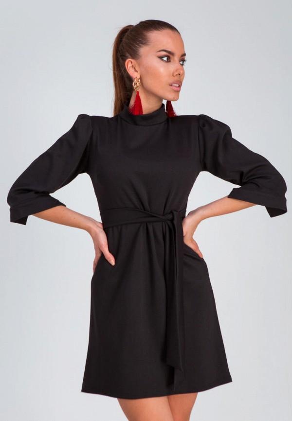 женское повседневные платье karree, черное