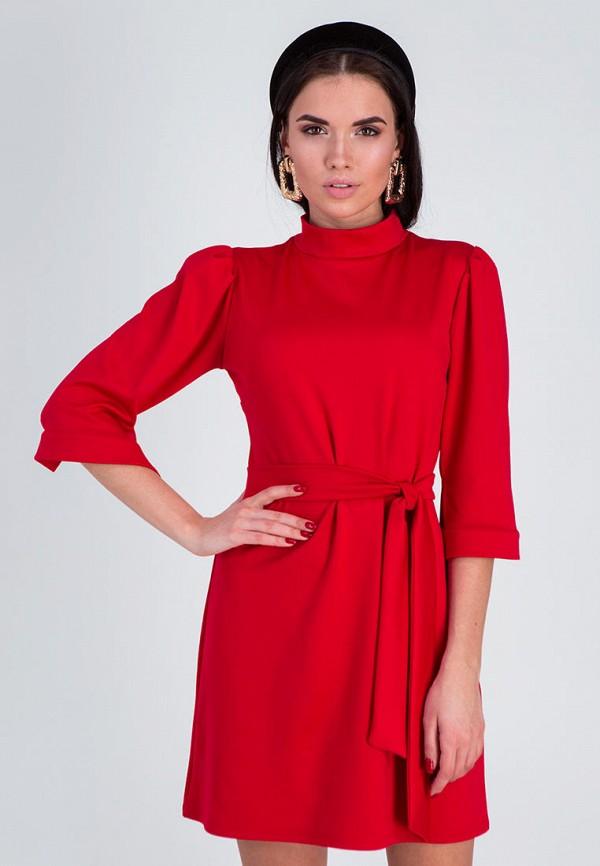 женское повседневные платье karree, красное