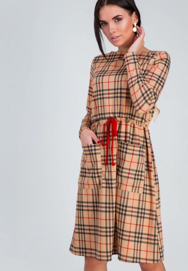 женское повседневные платье karree, бежевое