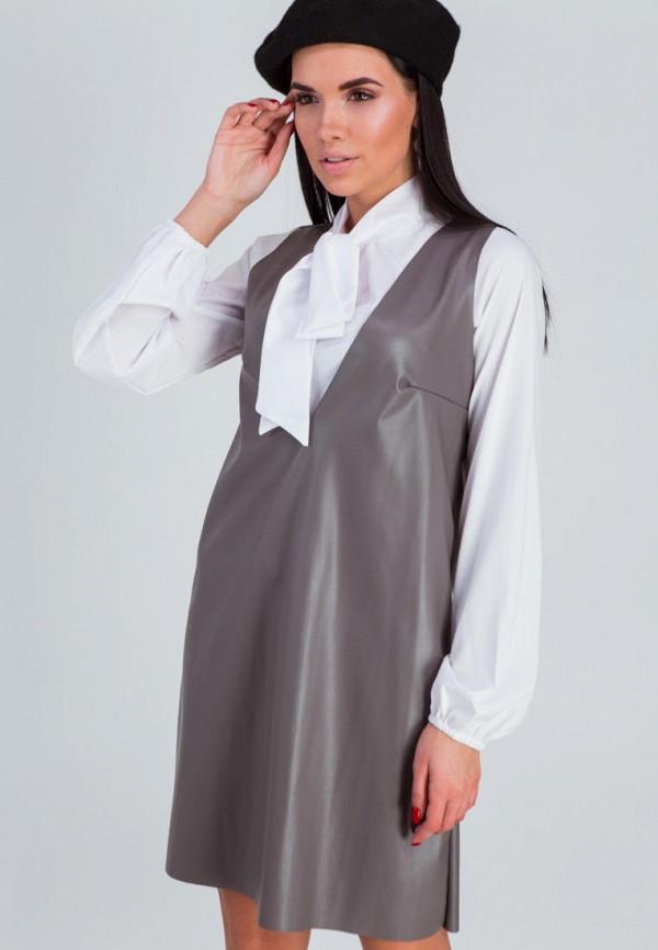 женское платье karree, серое