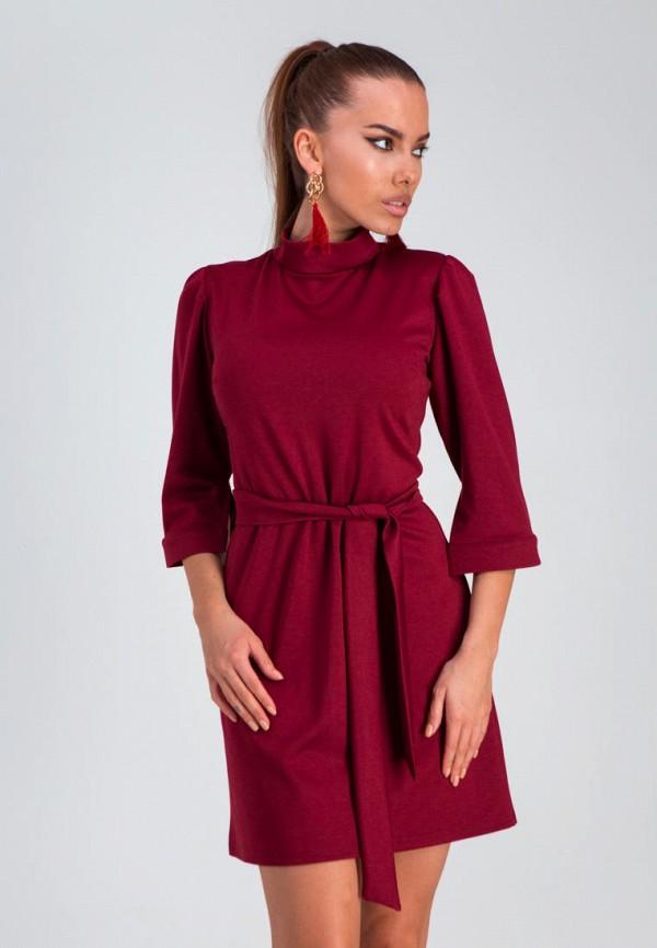 женское повседневные платье karree, бордовое