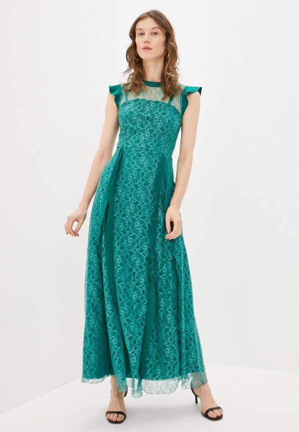 женское вечерние платье emansipe, зеленое