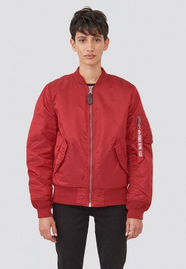 женская куртка alpha industries, разноцветная