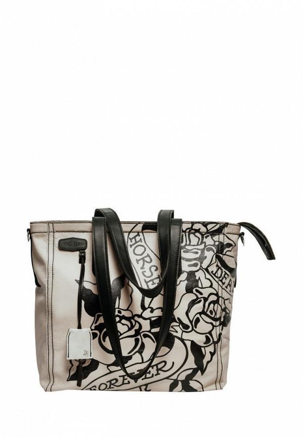 женская сумка deadhorse, белая