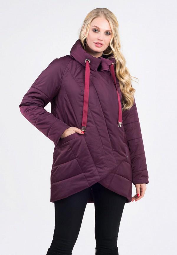 женская куртка vicco, бордовая