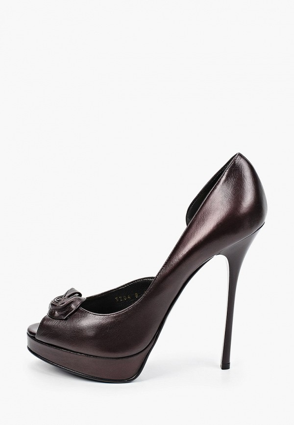 женские туфли enzo logana, коричневые