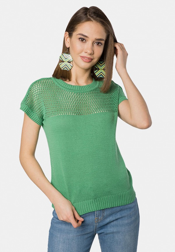 женский джемпер mr520, зеленый
