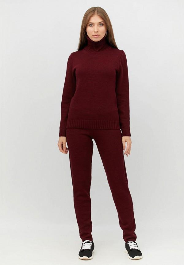 женский костюм прованс, бордовый