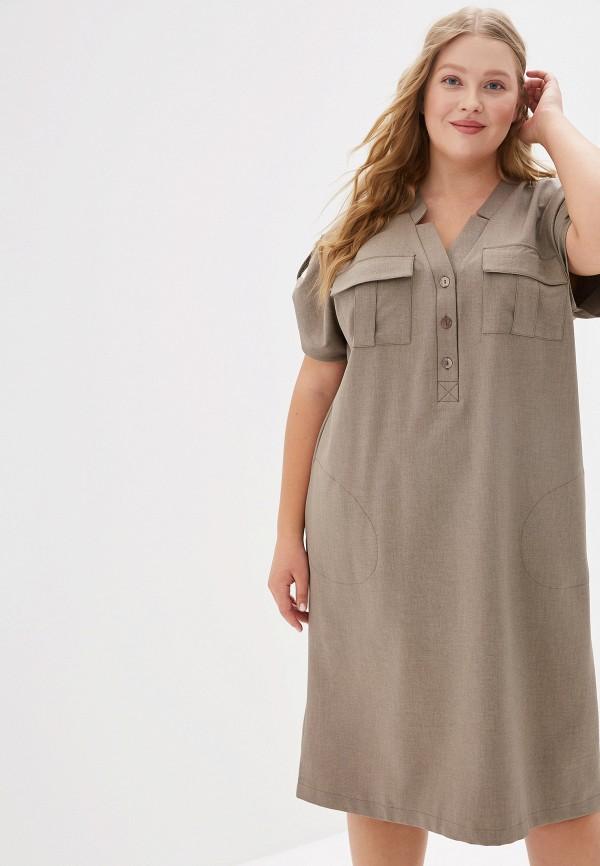 Платье Montebella Style цвет серый
