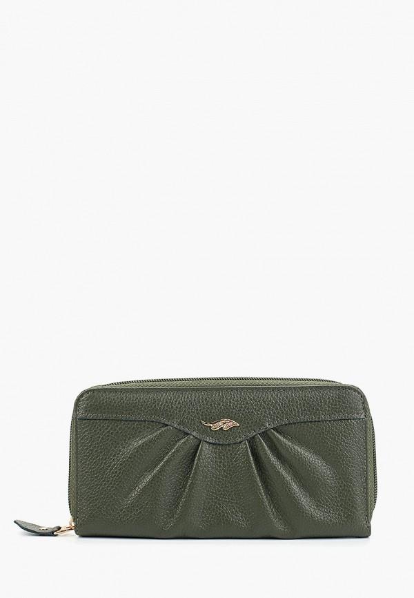 женский кошелёк franchesco mariscotti, хаки