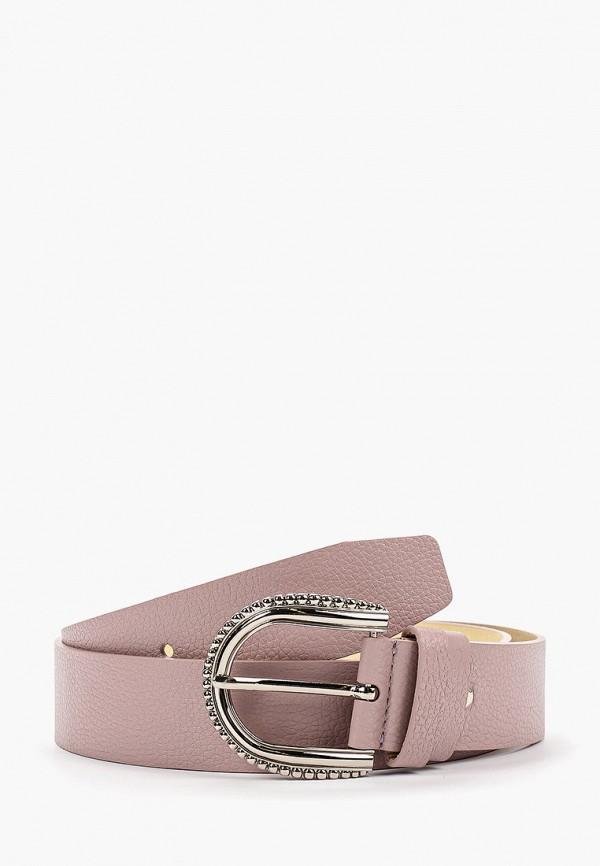 женский ремень franchesco mariscotti, розовый