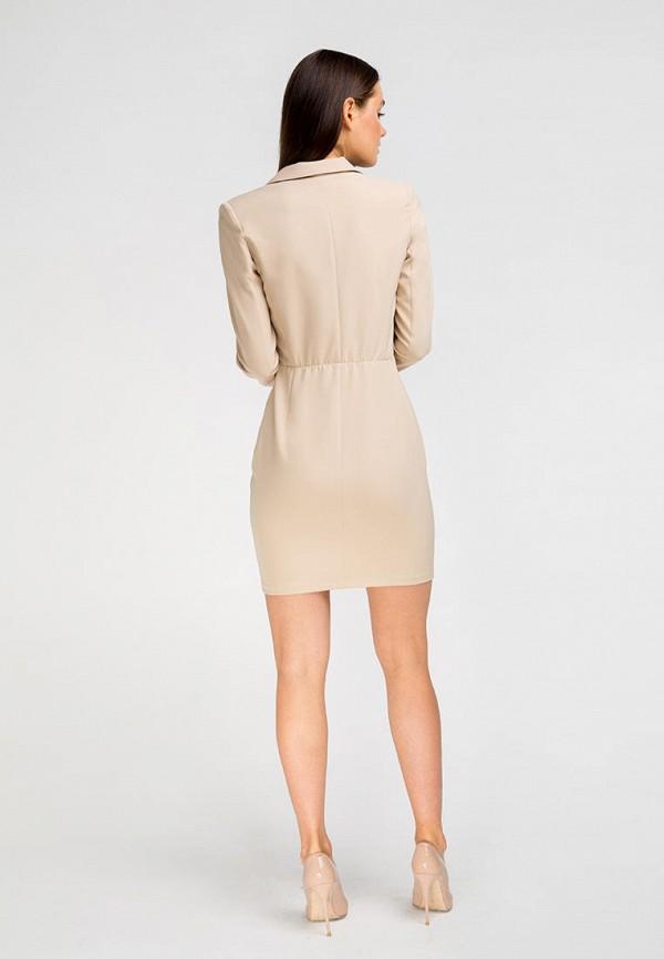 Платье Fors цвет бежевый  Фото 3