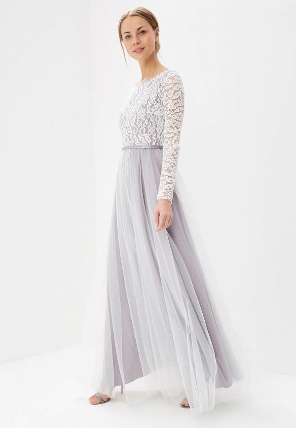 женское вечерние платье lakshmi fashion, фиолетовое